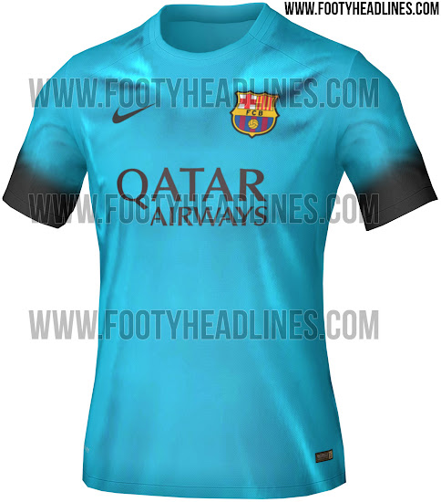La tercera camiseta del FC Barcelona 2015 16 será azul turquesa - La ... 92db1f26bf6
