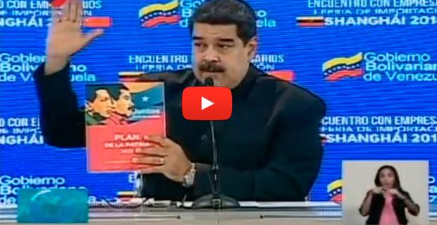 Maduro dijo a empresarios que llenará a China con productos Made in Venezuela