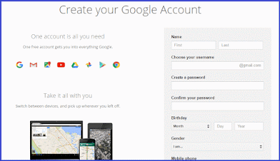 create-Google-Account