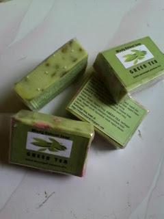 Sabun Green Tea Teh Hijau