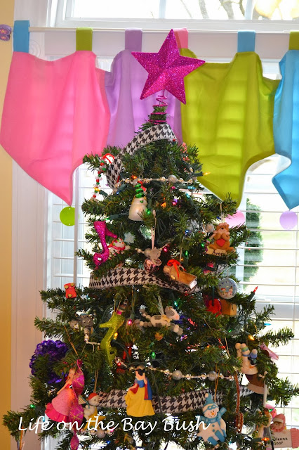 Christmas Tree Girls Room
