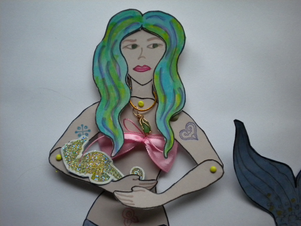 The Mermaid Chair Hanging In Nursery Sevensistersarts May 2012