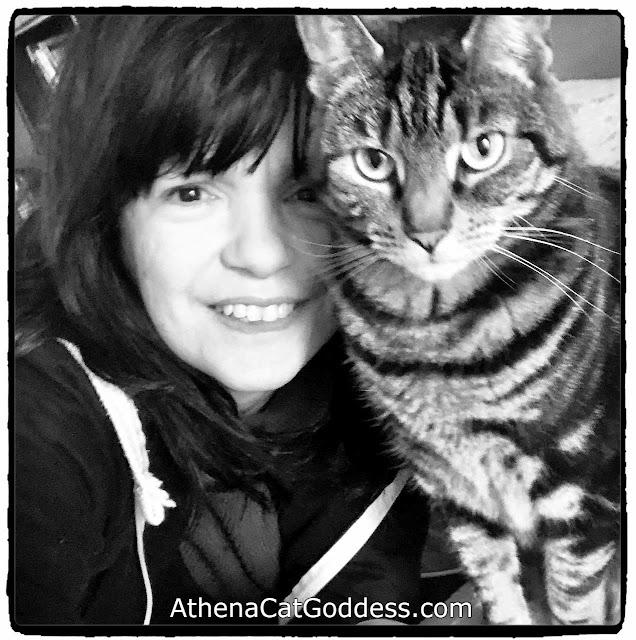 cat mum and fur baby selfie