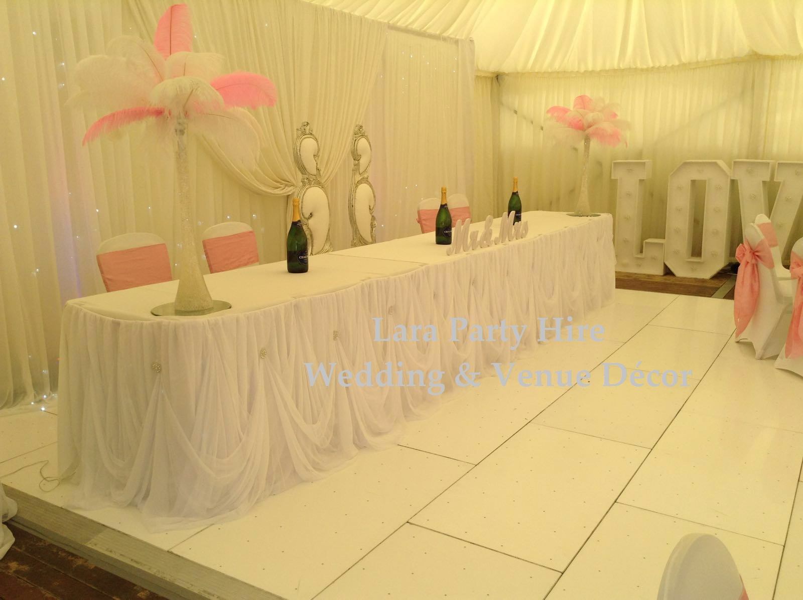 Top Table Skirting