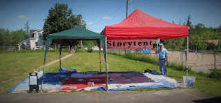 storytent at martinon community centre