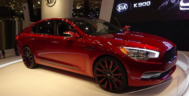 2018 Kia K900 Design