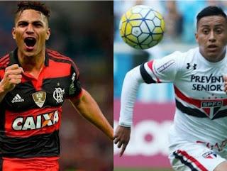 Flamengo vs Sao Paulo en Torneo Brasileirao 2017