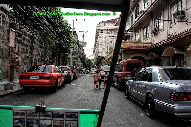 Street scene, Intramuros, Manila, Philippines