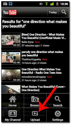 Cara Upload Video Ke Youtube Lewat HP