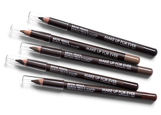 Make Up For Ever Brow Pencils 10 20 30 40 50 Review Photos Swatches