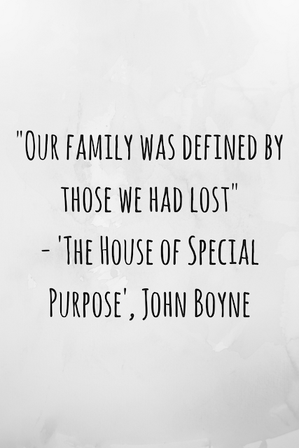 Review of 'The House of Special Purpose' by John Boyne