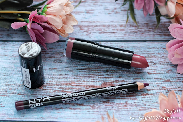 NYX Slim Lip Pencil, отзывы