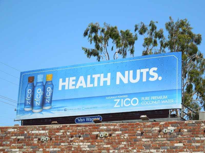 Health nuts Zico billboard