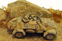 Sd Kfz 222 Armoured Car