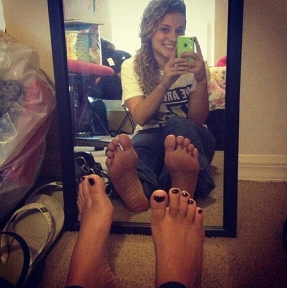 Amatuer teen feet