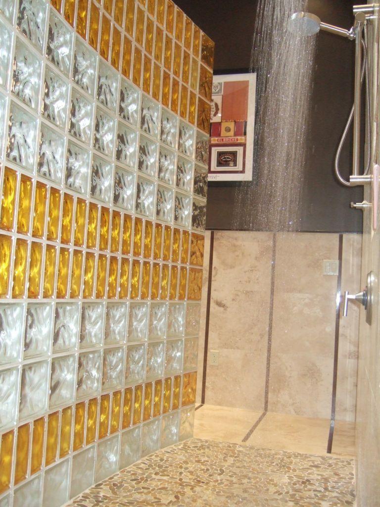 Cam tuğla uygulaması ev dekorasyonu