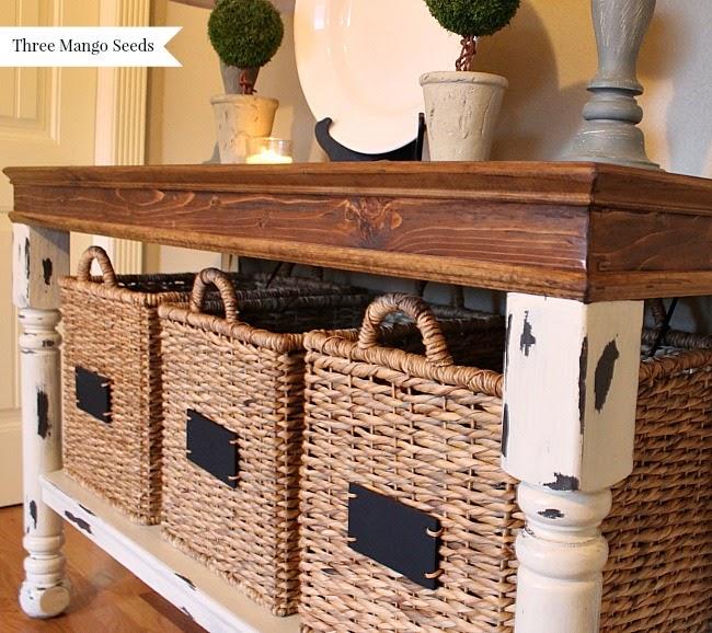Three Mango Seeds: Laundry Room Folding Table