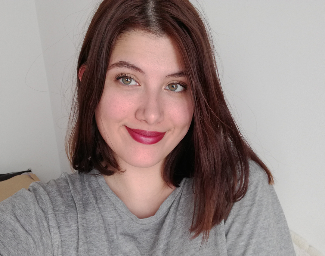 Amaze In Style | Jordana Classic Lipstick in Blackberry Lip Swatch