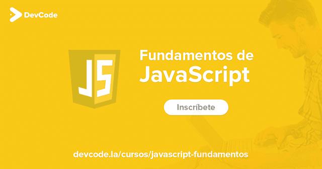 Avatar del usuario o portada del posts de Curso de JavaScript (DevCode)2019