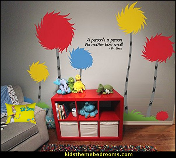cat in the hat dr seuss bedroom ideas  Dr Seuss bedroom ideas - Dr.Suess bedroom decor - Dr Seuss Bedding - dr. seuss nursery  - decorating ideas  cat in the hat theme bedrooms -  Dr Seuss wall decal stickers - DR SEUSS wall mural decal - Dr. Suess playroom ideas - Dr. Seuss Plush Toys