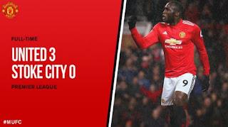 Manchester United Kalahkan Stoke City 3-0