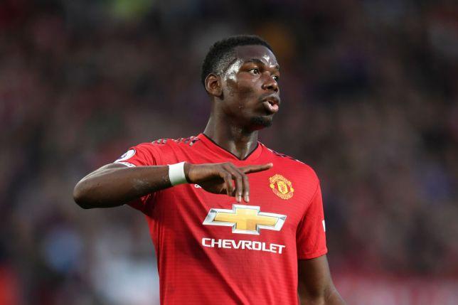 Paul Pogba Dengan Jersey Manchester United