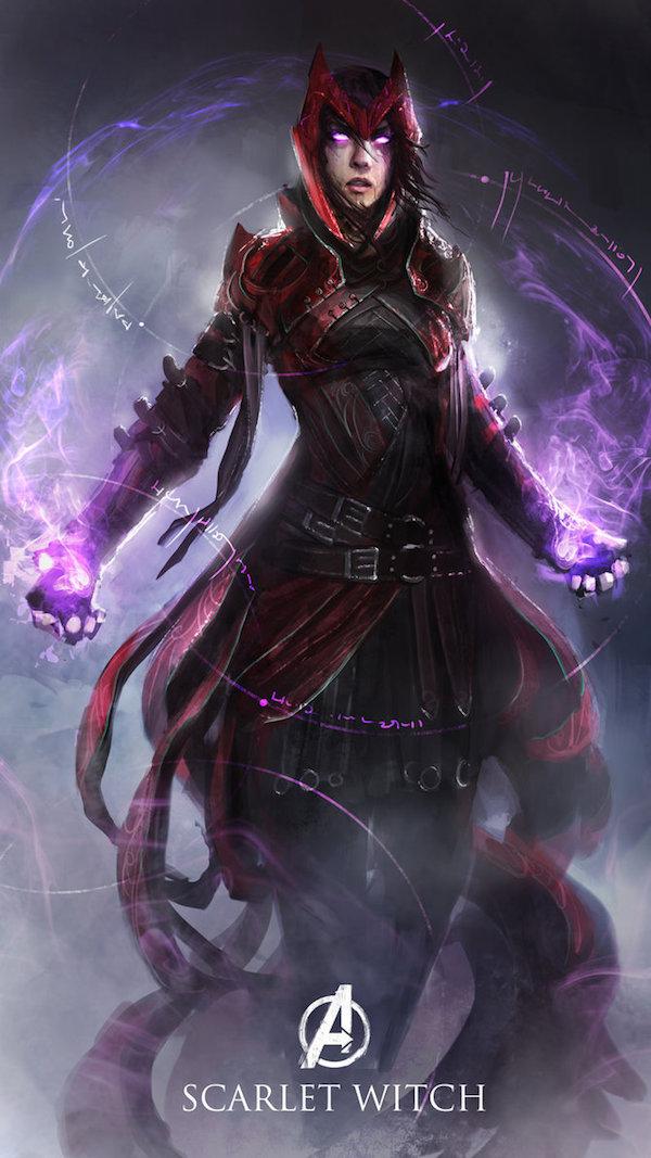7. Scarlet Witch