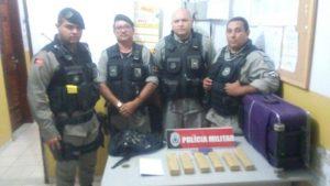 Polícia Militar é eficiente e fecha mais um ponto de venda de drogas na cidade de Sapé