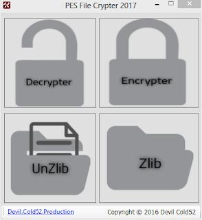 Pes file crypter 2017 v2 by Devil Cold52