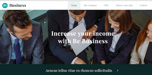 Demo Contoh Desain Template Website Company Profile Profesional