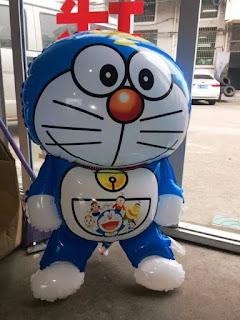Gambar Balon Lucu Berkarakter Doraemon