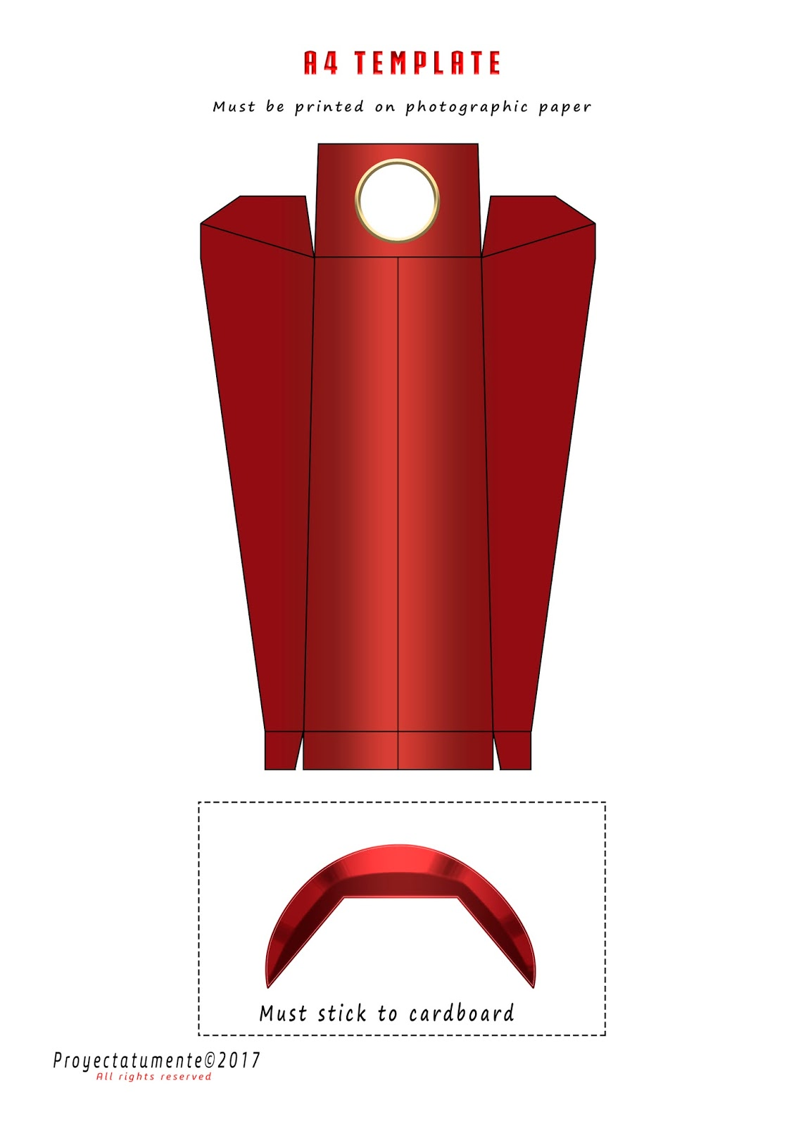 How To Make The Iron Man Missile Launcher Proyectatumente