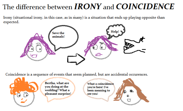 Learning English – Lesson Eleven (Irony and Coincidence