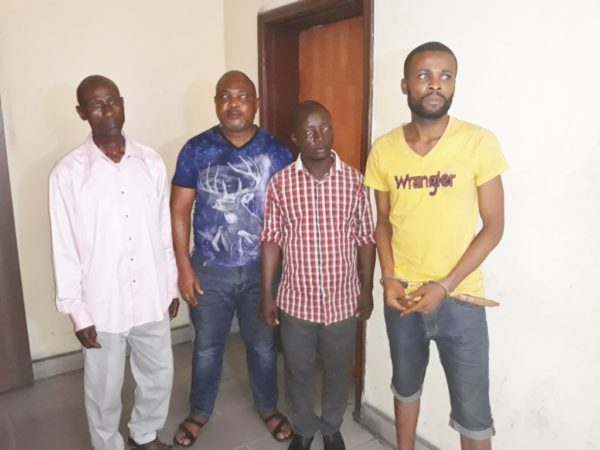 The Rivers INEC staff caught  by DSS in an attempt to sell PVCs
