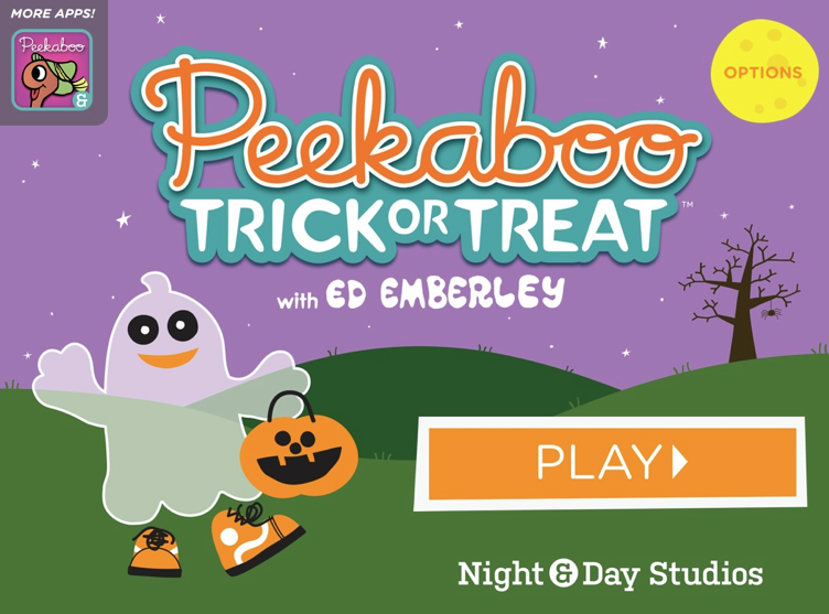 Chit Chat and Small Talk: Peek-a-Boo Trick or Treat App Review