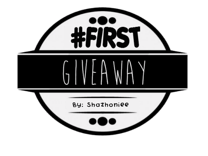 First Giveaway by Shazhoniee