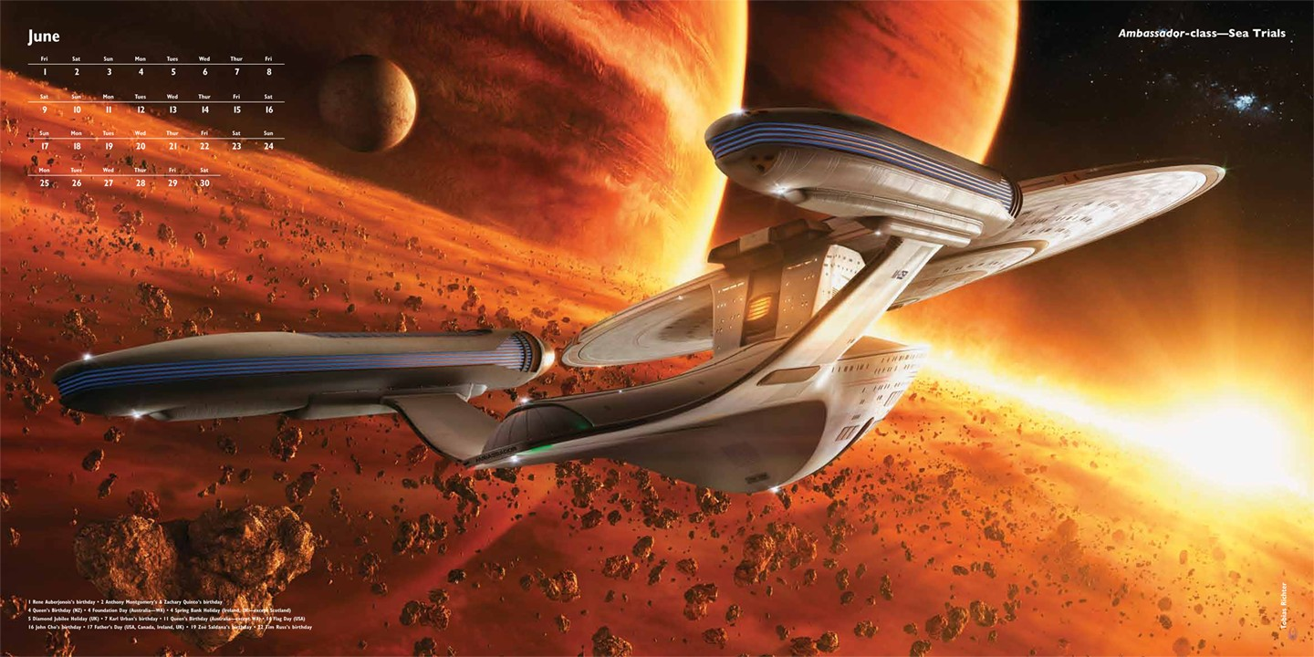Narendra 3d Wallpaper The Trek Collective Ships Of The Line 2012 Preview