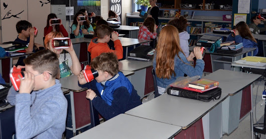 Google Expeditions Arrives in Yarmouth