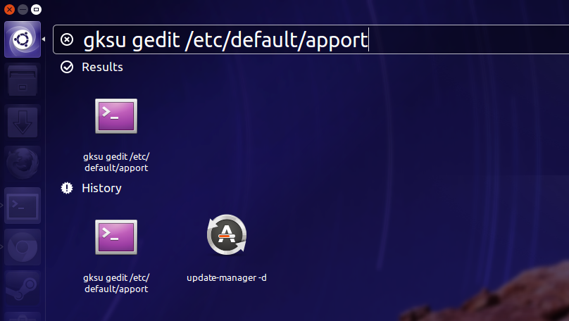 Disable Unnecessary Error Messages from Appearing in Ubuntu 15.04