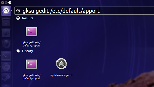 Disable Unnecessary Error Messages from Appearing in Ubuntu 13.04 raring