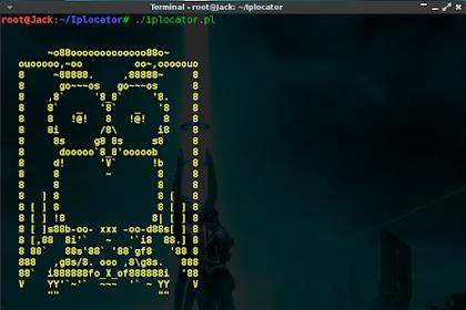 Tracking IP Address with Perl Script ( IPlocator.pl )