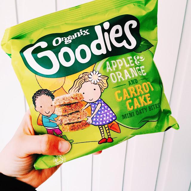 Organix Goodies Mini Oaty Bites