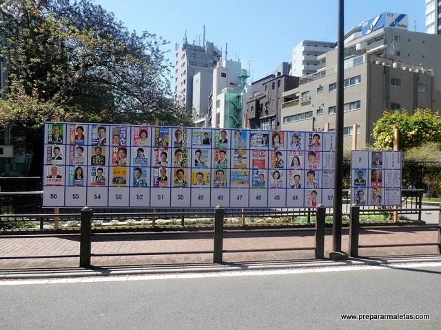 elecciones en tokio