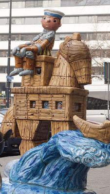 Street Sculpture in Rotterdam