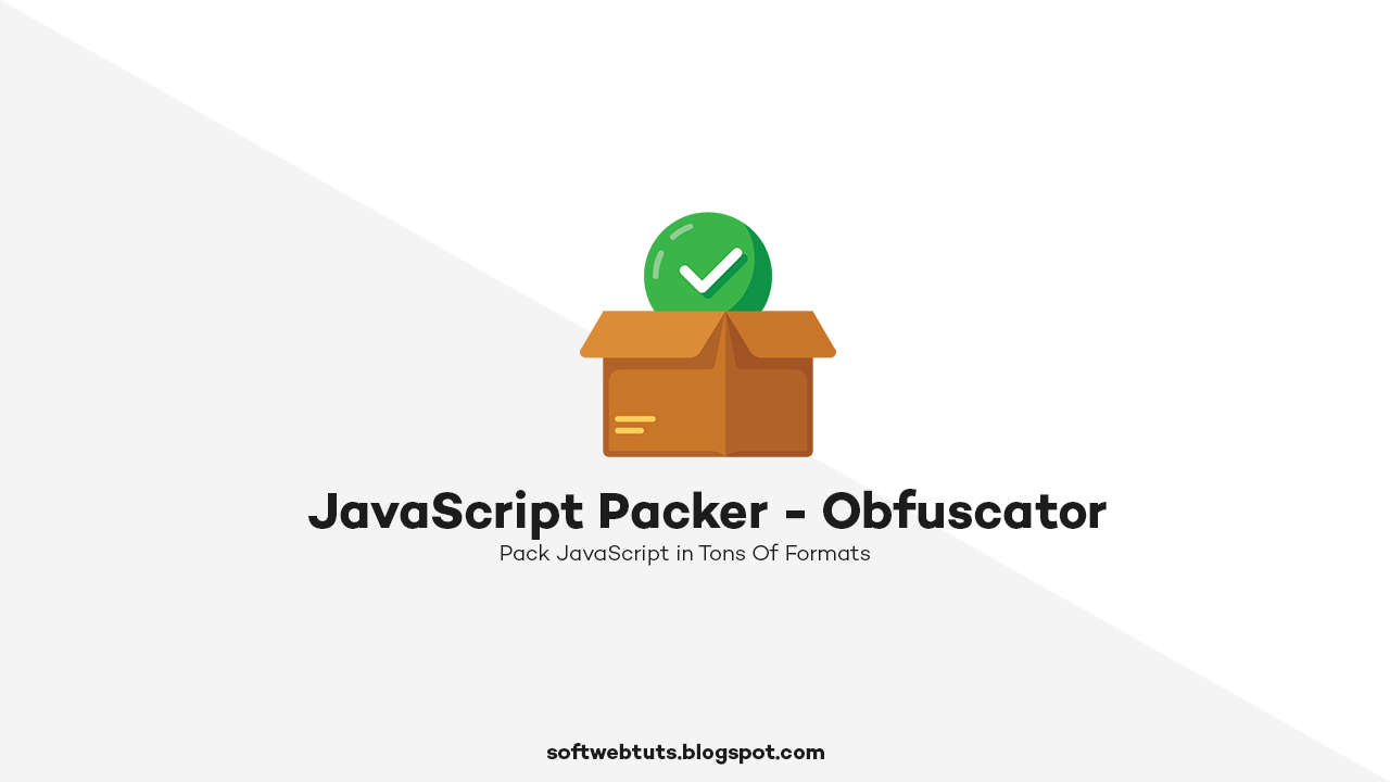 JavaScript Packer / Obfuscator - All-in-One JavaScript packing tool