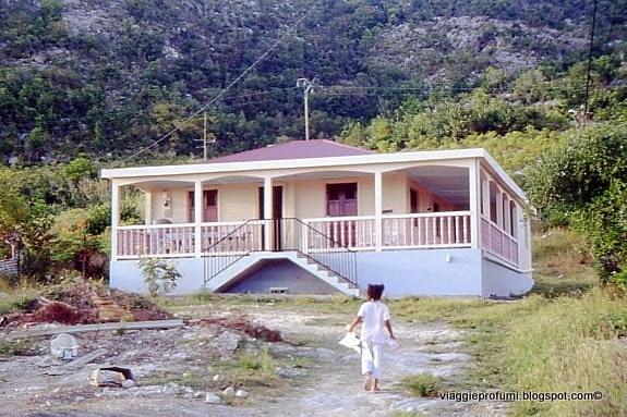 La Dèsirade, abitazione creola