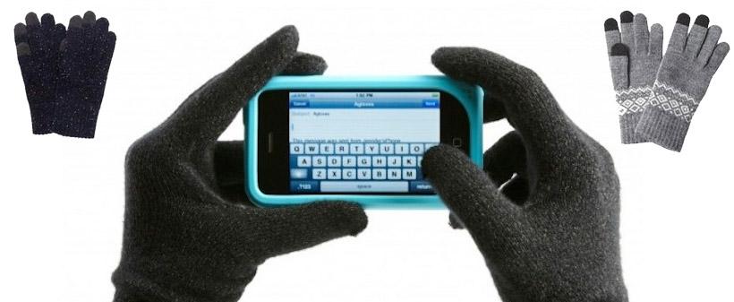 Guantes tactiles - regalo promocional de uso habitual