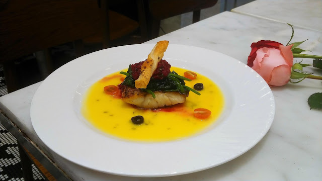 pan seared sea bass review