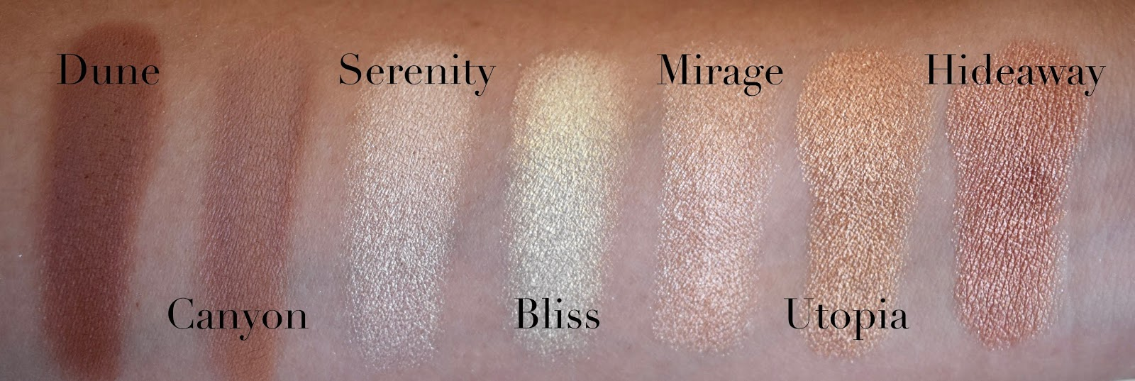 Desert Oasis 19 Color Shadow Highlighter Palette by BH Cosmetics #13
