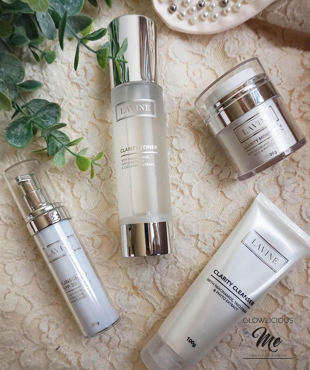 Review Rangkaian Skincare dari Lavine Cosmetics